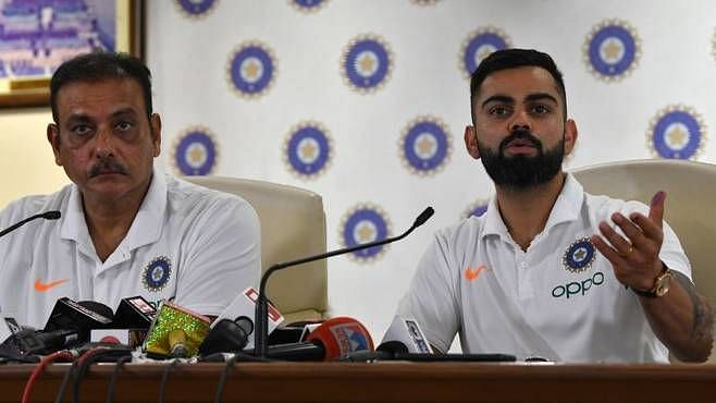 Kohli addressed the pre-departure press conferance for the West Indies tour on Monday, 29 July.