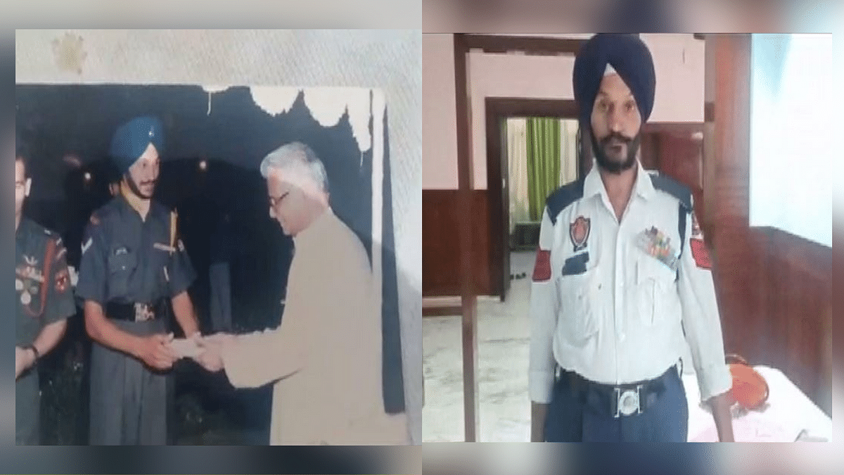 From Traffic Policeman to ASI, Kargil War Hero Gets Promotion