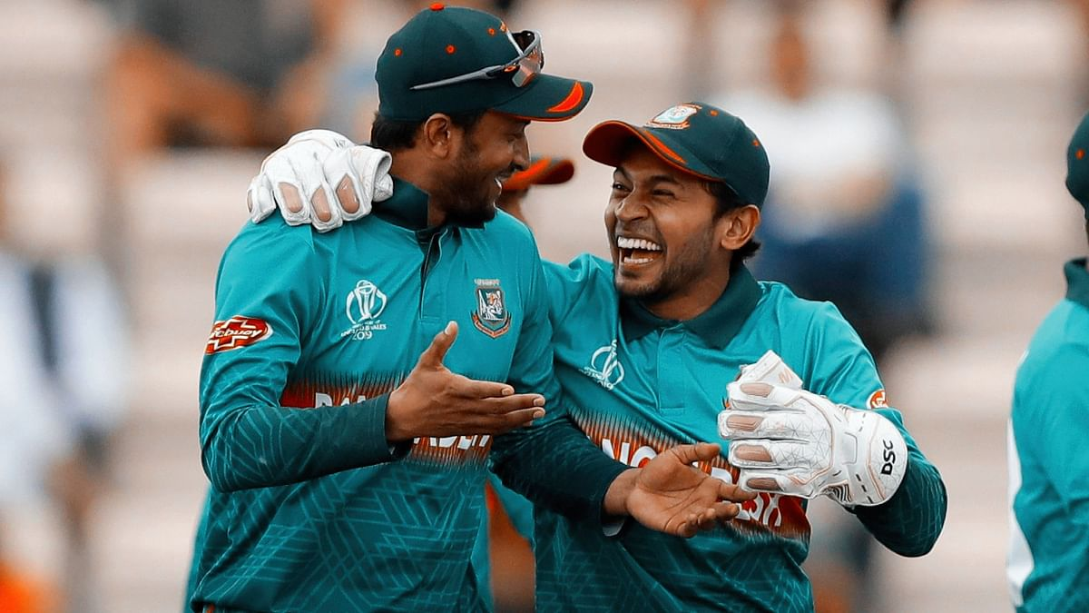 Shakib Al Hasan and Mushfiqur Rahim have together scored 803 runs for Bangladesh in the ongoing World Cup in England and Wales.