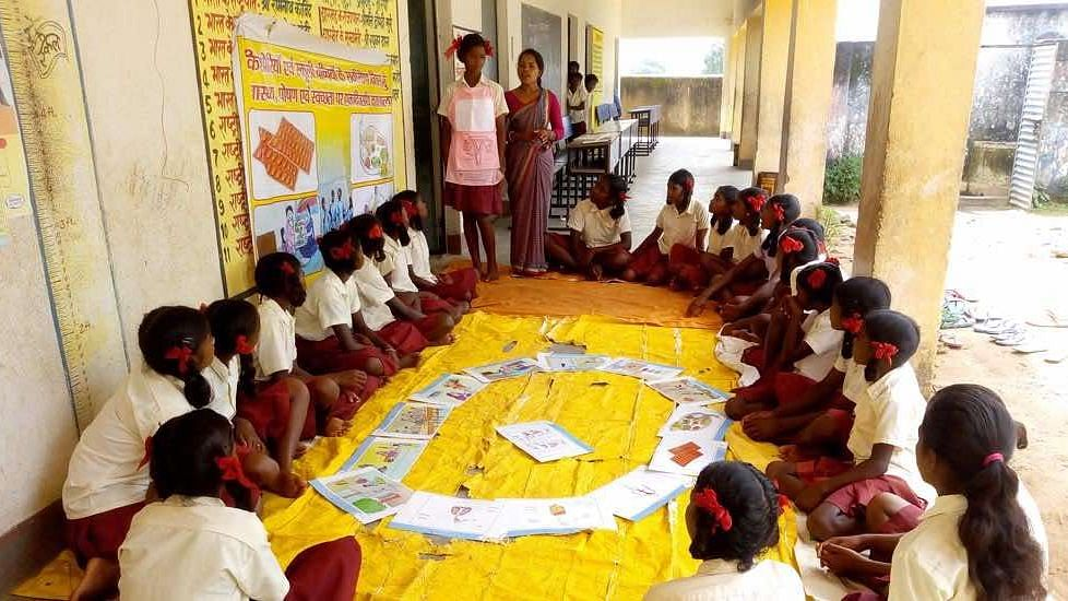 Jharkhand Village Girls Shed Fear and Shame About Menstruation