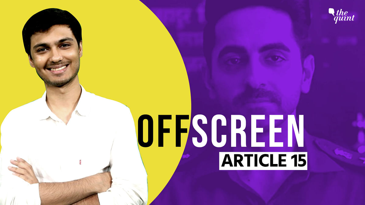 'Article 15' Writer Gaurav Solanki on Making It in Bollywood