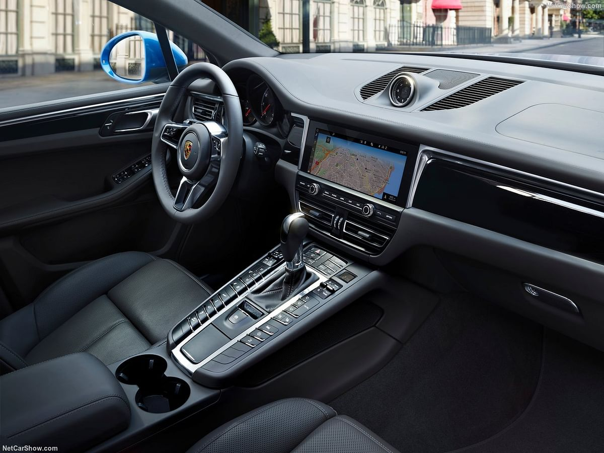 Upgraded interiors with new features on the SUV.