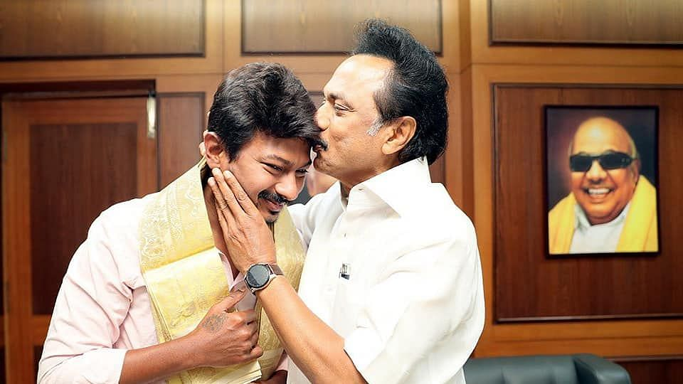 MK Stalin's Son And Actor Udhayanidhi To Head DMK's Youth Wing