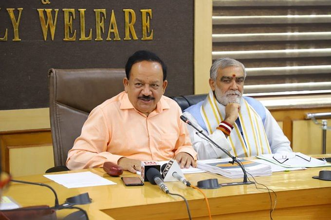 Union Health Minister Dr Harsh Vardhan at the release of the National Digital Health Blueprint.