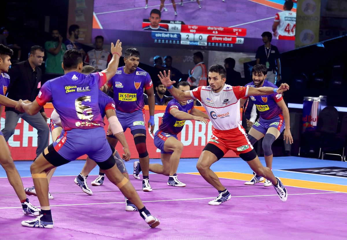 Dabang Delhi defeated Haryana Steelers 41-21 in a lop-sided game in Mumbai on Sunday, 28 July.