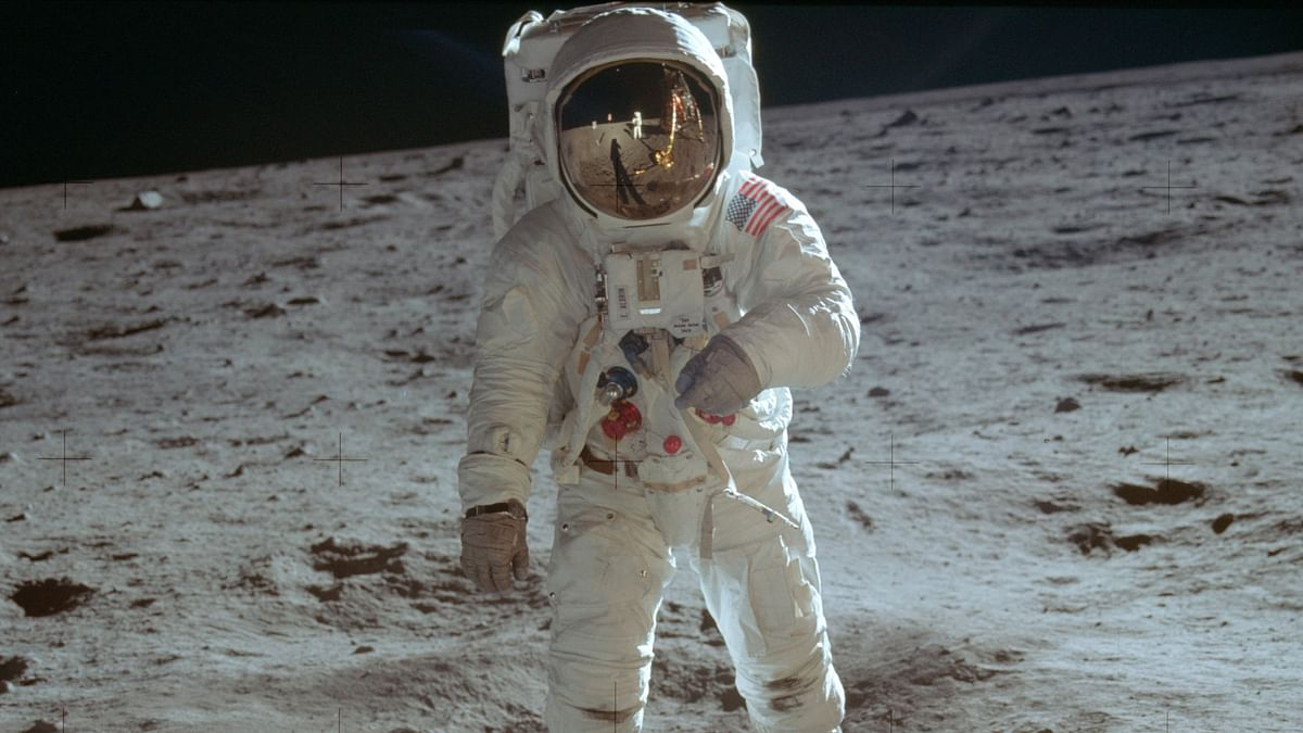 Hundreds of millions tuned in to radios or watched the grainy black-and-white images on TV as Apollo 11's Neil Armstrong and Buzz Aldrin set foot on the moon on 20 July, 1969, in one of humanity's most glorious technological achievements.