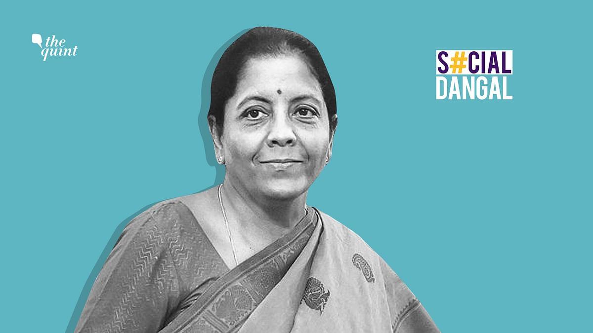 Union Finance Minister Nirmala Sithraman.