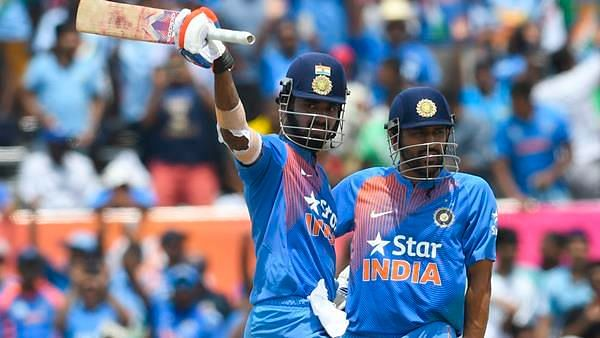 KL Rahul scored a 51-ball 110 during India's chase.