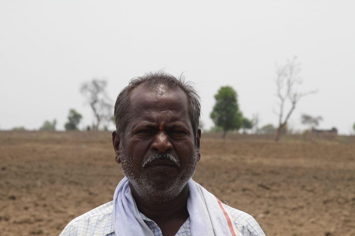 Gajanan Shamrao Kalmegh, the caretaker of Palekar's farm at Bellura village.
