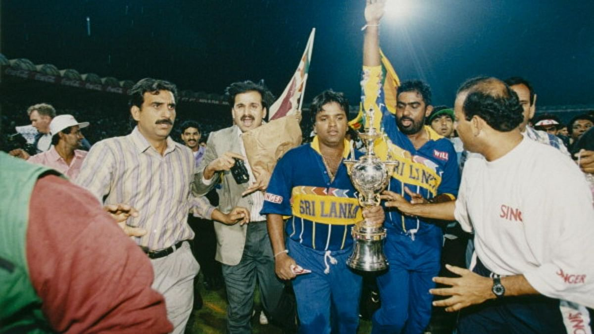 Sri Lanka won their only World Cup in 1996.