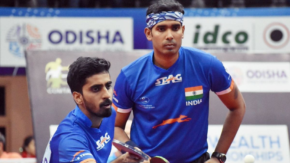 Sharath and Sathiyan made it to the semifinals of men's double where they will be challenged by Pang Yu En and Chua Shao Han from Singapore.