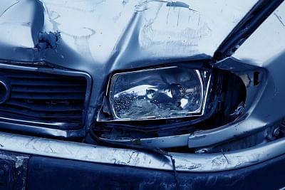 Road accident.