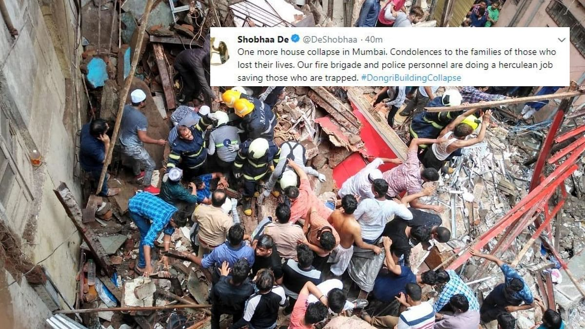 Mumbai Building Collapse: Tweeple Offer Prayers for the Victims