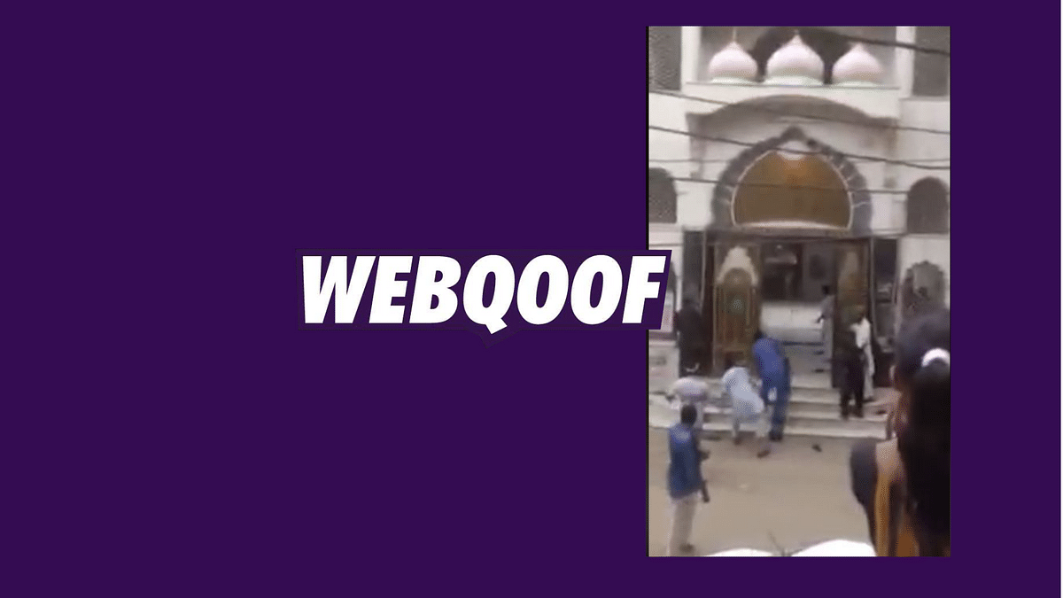 Old Clip of Jaipur Mosque Attack Viral as Muslims Attacking Temple