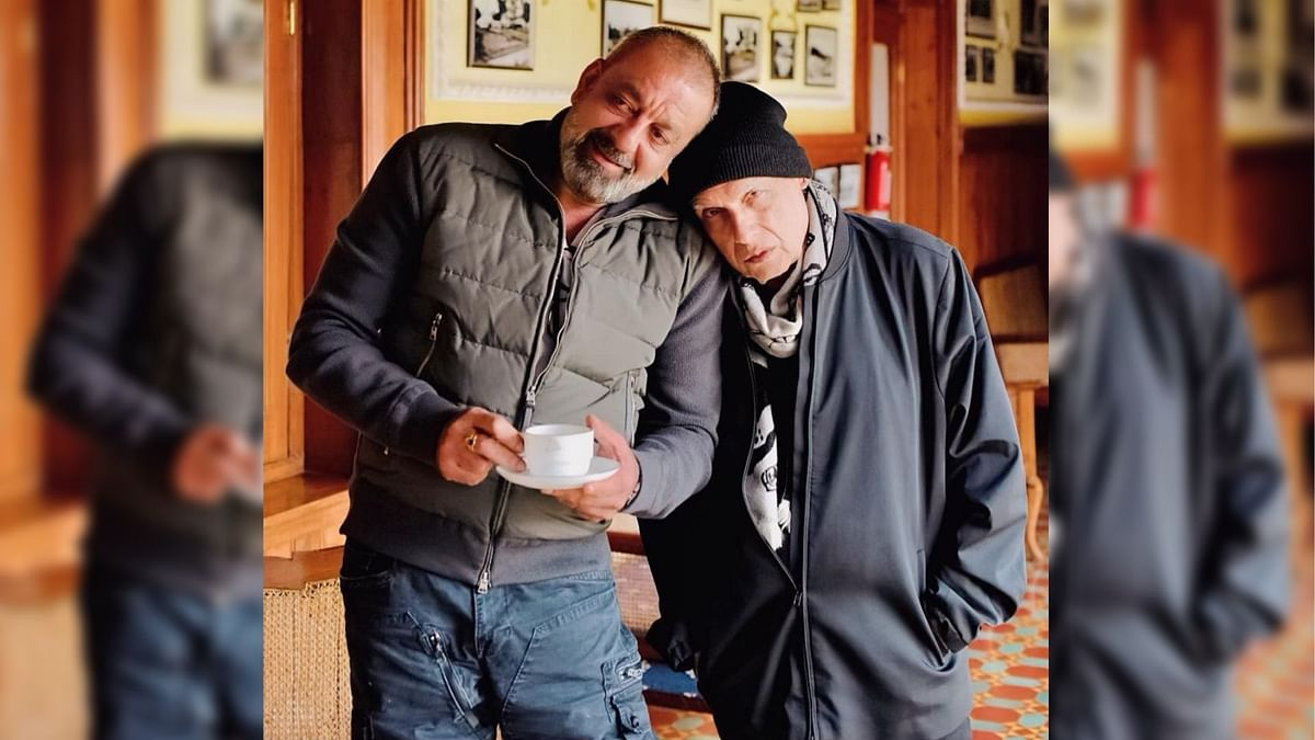 Sanjay Dutt and Mahesh Bhatt.