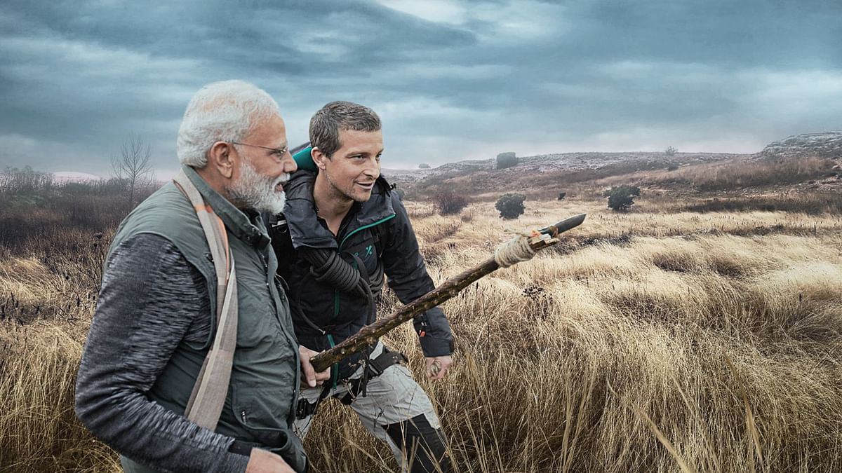 PM Modi to Feature With Bear Grylls in 'Man vs Wild' Episode