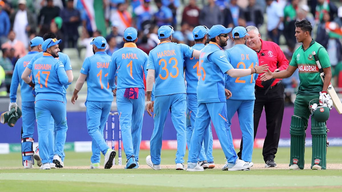 Chasing 315 for victory, India bowled Bangladesh out for 286.