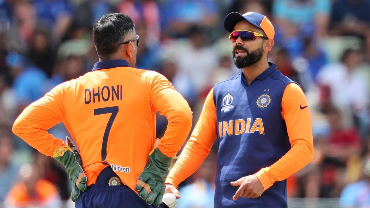 Rohit Sharma Backs Dhoni After Missed DRS Call Against England