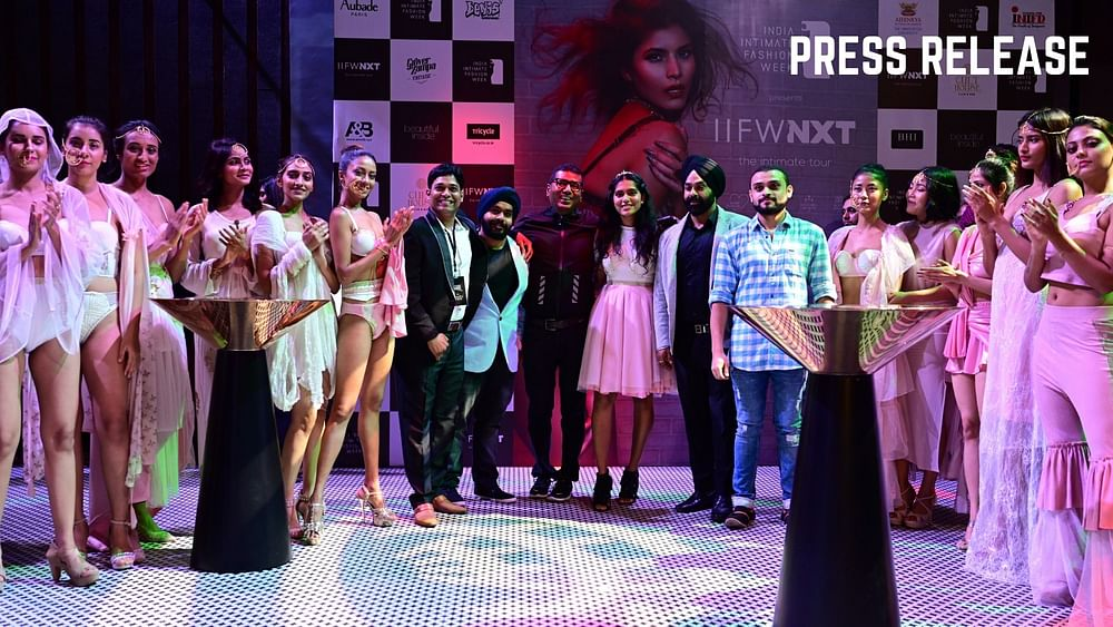 Iifw Season 3 Adds Another Feather To Its Cap With Iifw Nxt The Intimate Fashion Tour Press Release