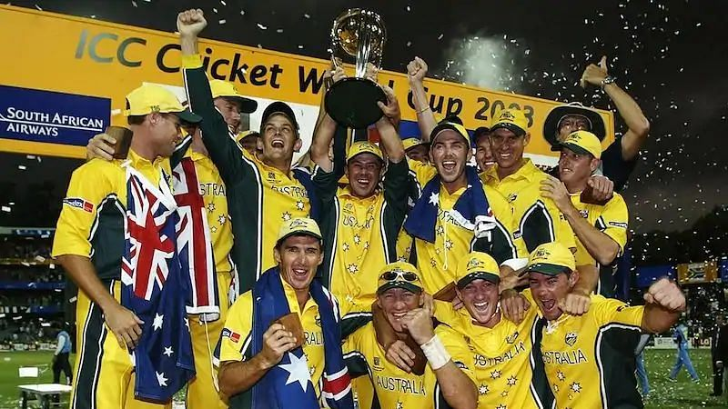 Australia became only the second team to retain the World Cup.