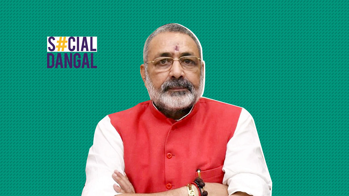 Union Minister Giriraj Singh said there needs to be law to tackle the declining Hindu population.
