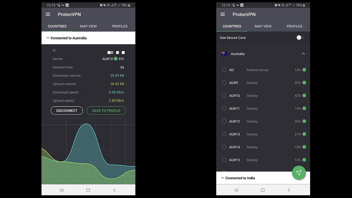 ProtonVPN emphasizes the use of Secure Core connection which makes it safer than other VPN services.