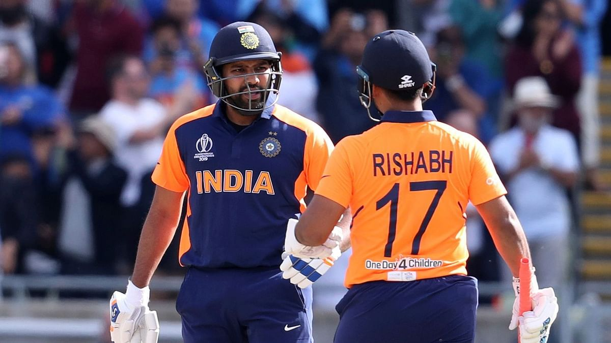 In the post-match press-conference, Indian vice-captain Rohit Sharma was asked if he felt surprised by Pant coming in at number four.