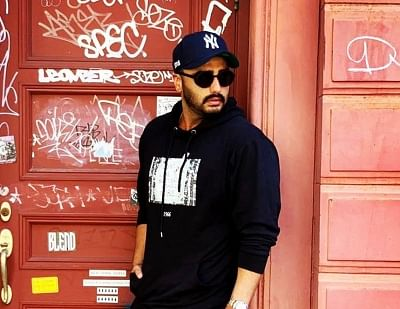 """Arjun on Thursday night shared a string of photographs on Instagram from his """"surreal"""" vacation in New York. He captioned the images: """"It"""