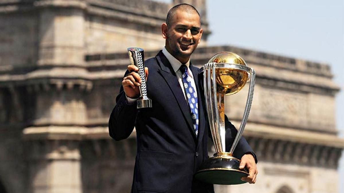 MS Dhoni led India to a win in the final of the 2011 World Cup at the Wankhede Stadium in Mumbai with a humongous six off Sri Lanka pacer Nuwan Kulasekara.