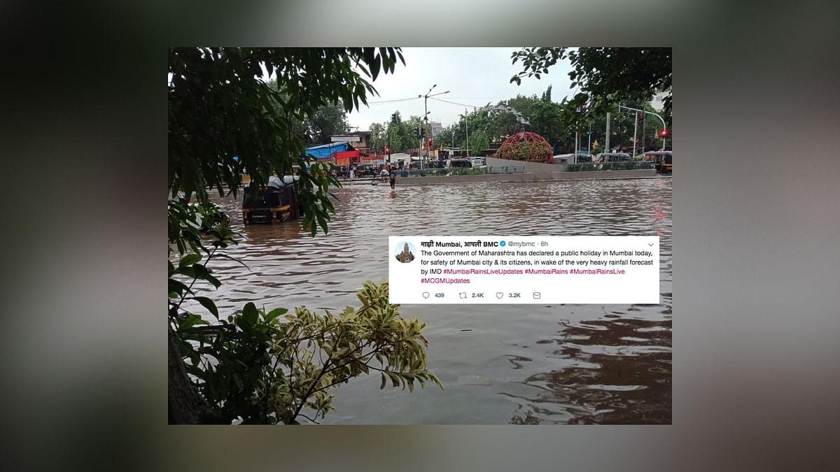 Mumbai Comes to A Standstill As Rain Wreaks Havoc, Tweeple React