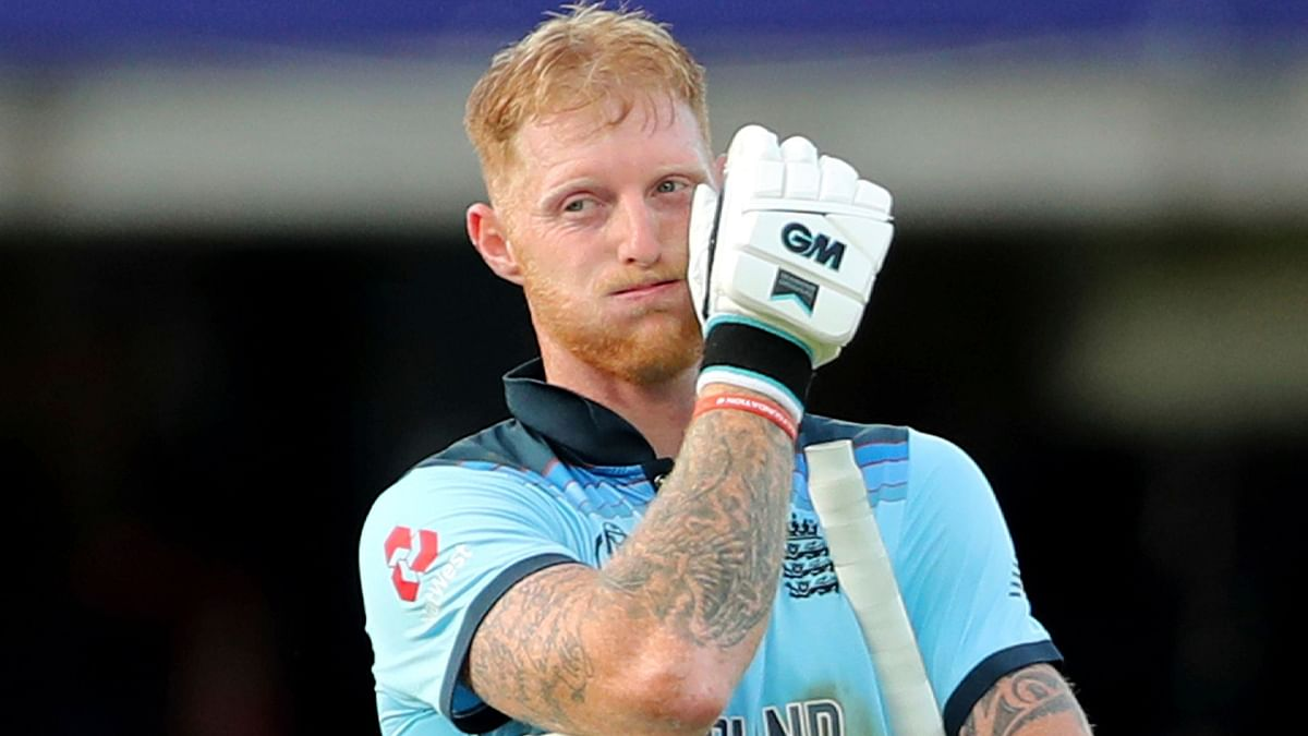 Stokes was unbeaten on 84 as the match went down to a Super Over.