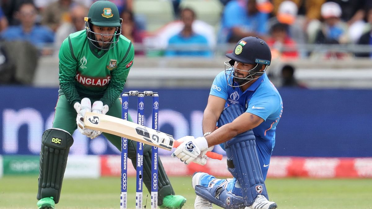 Pant scored a quickfire 48 off 41 against Bangladesh.