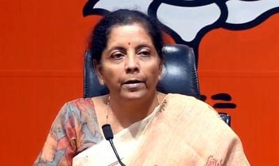 Nirmala Sitharaman. (File Photo: IANS)