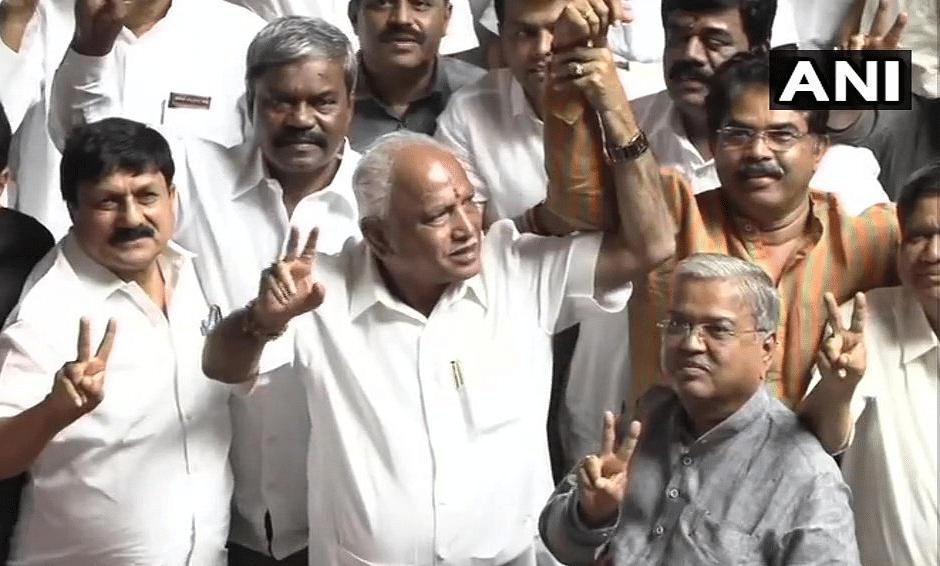 Karnataka CM Yediyurappa after defeting JD(S)-Congress in trust vote.