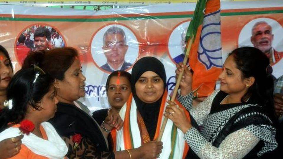 BJP Leader Ishrat Jahan Demands Protection Citing Threat to Life