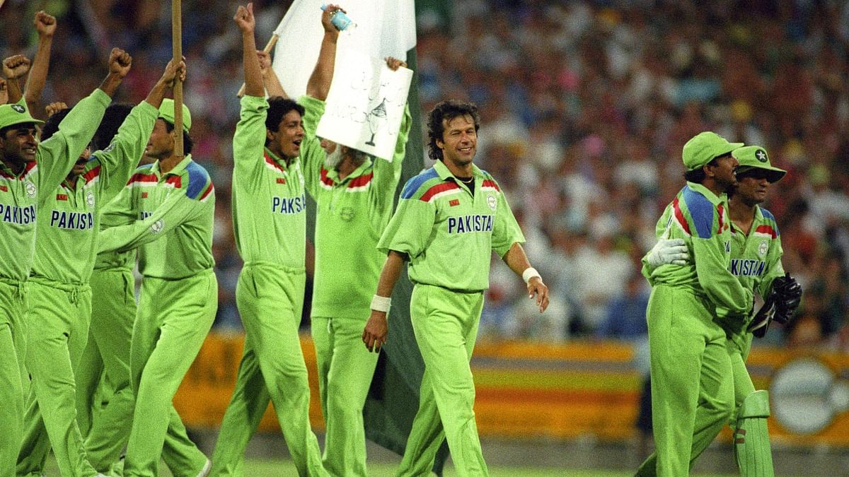 Imran Khan led Pakistan to their maiden only World Cup title so far.