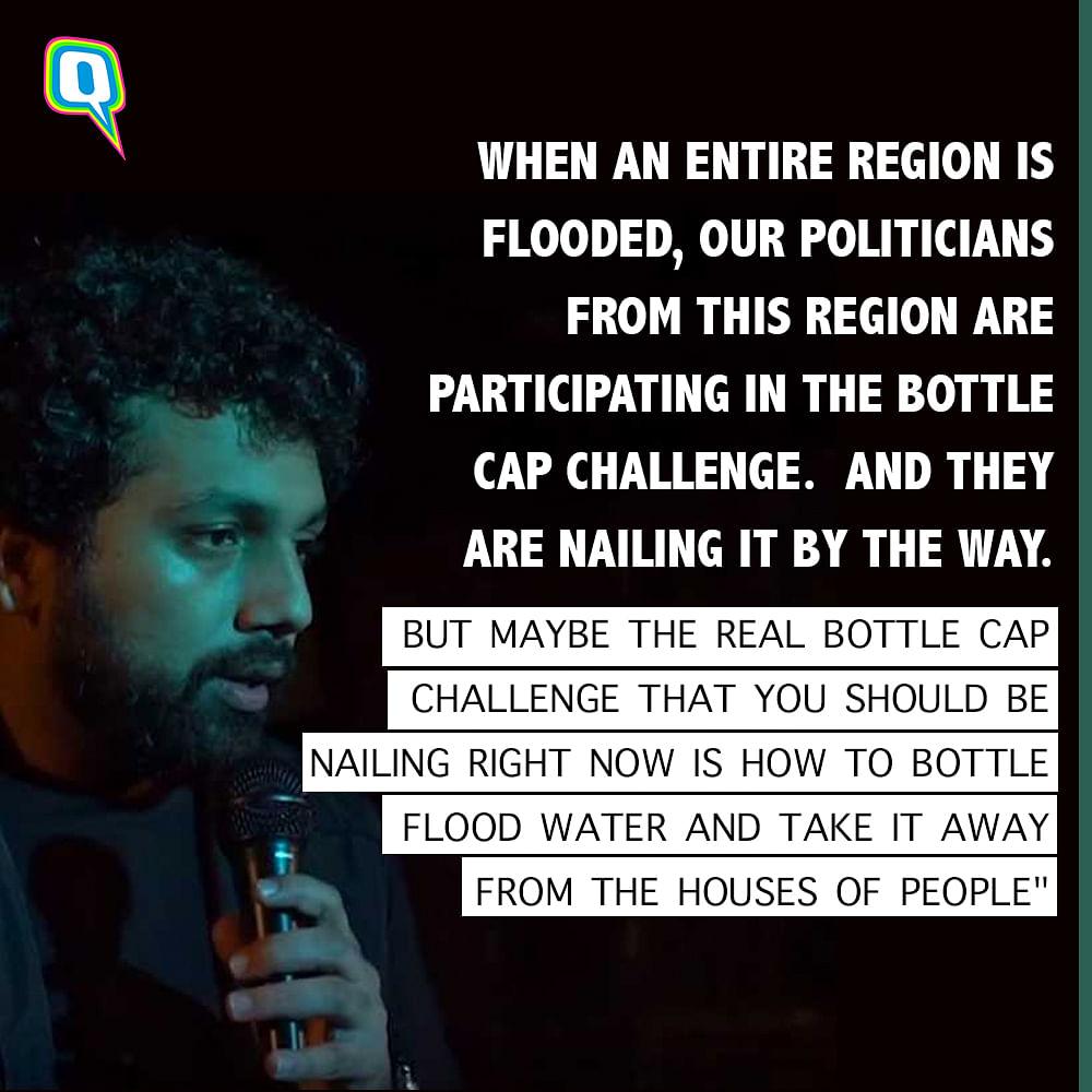Still from Comedian Abhineet Mishra's video