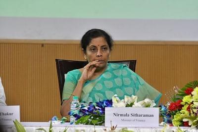 Union Finance and Corporate Affairs Minister Nirmala Sitharaman.