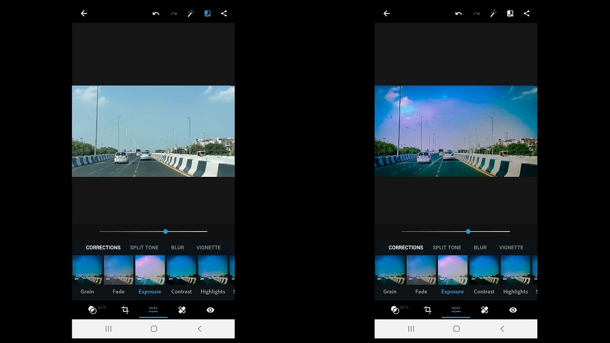 Adobe brings a sized down version of their popular photoshop to mobile.