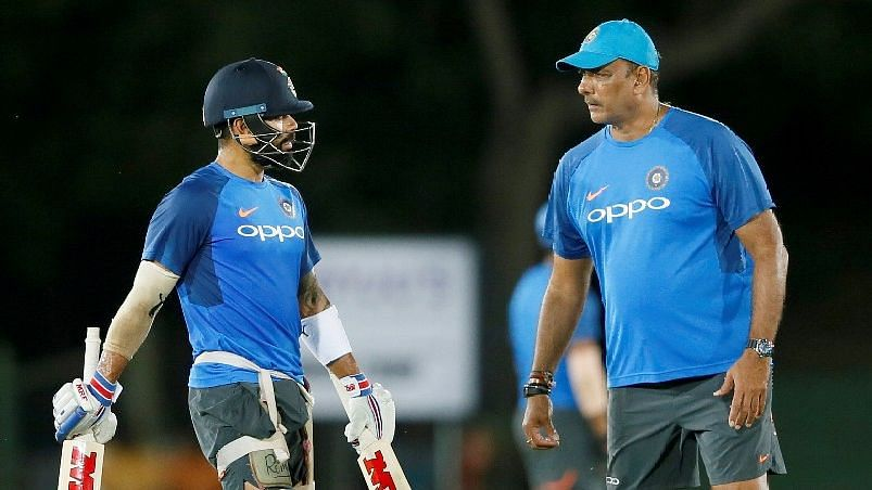 Shastri Complements Kohli, Unfair  to Change Coach: BCCI Official