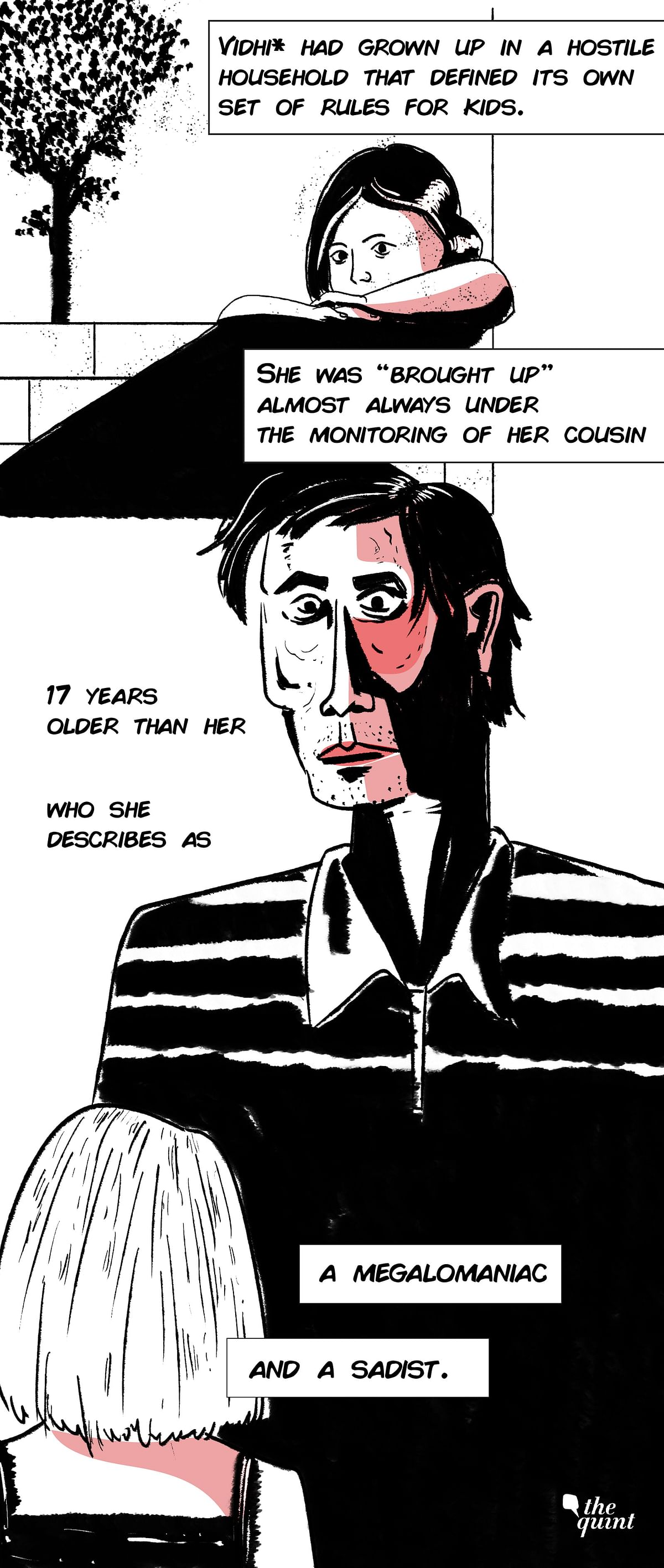 Graphic Novel | The Fight Not About Us: Child Sex Abuse Survivors