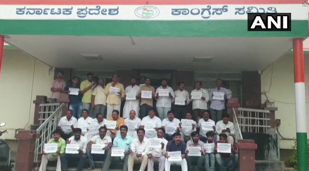 'Threat from Cong Leaders,' Rebel K'taka MLAs Write to  Police
