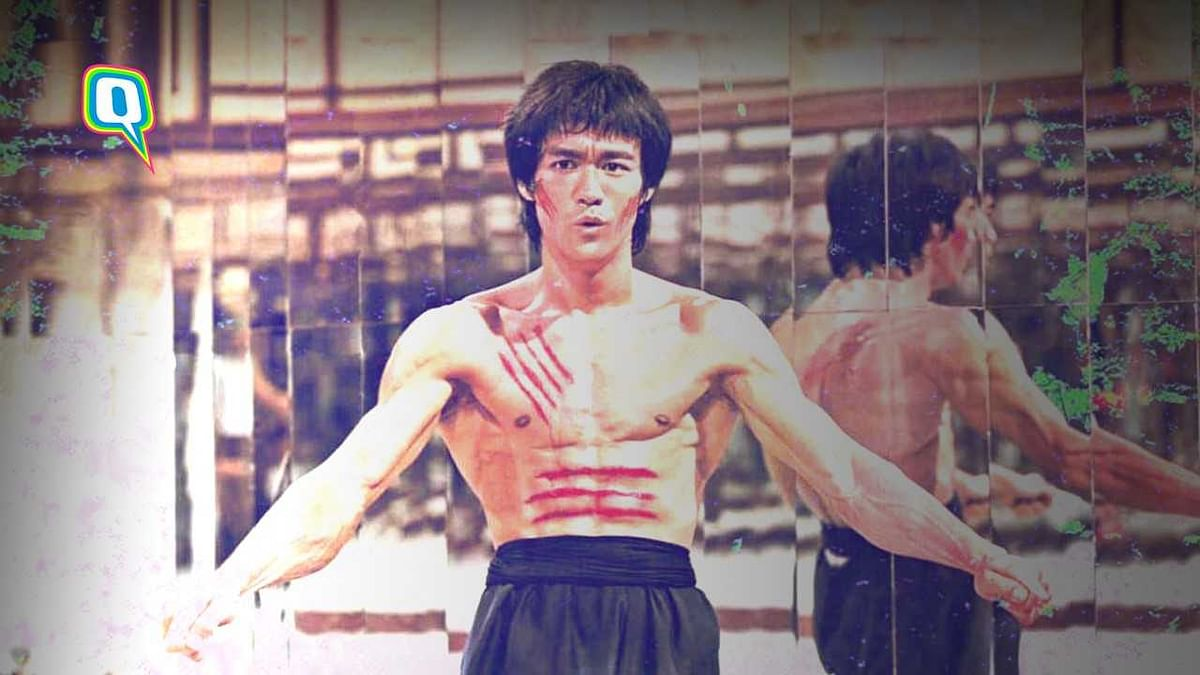 It is not a secret that Bruce Lee used to put together the action sequences by himself in the films.