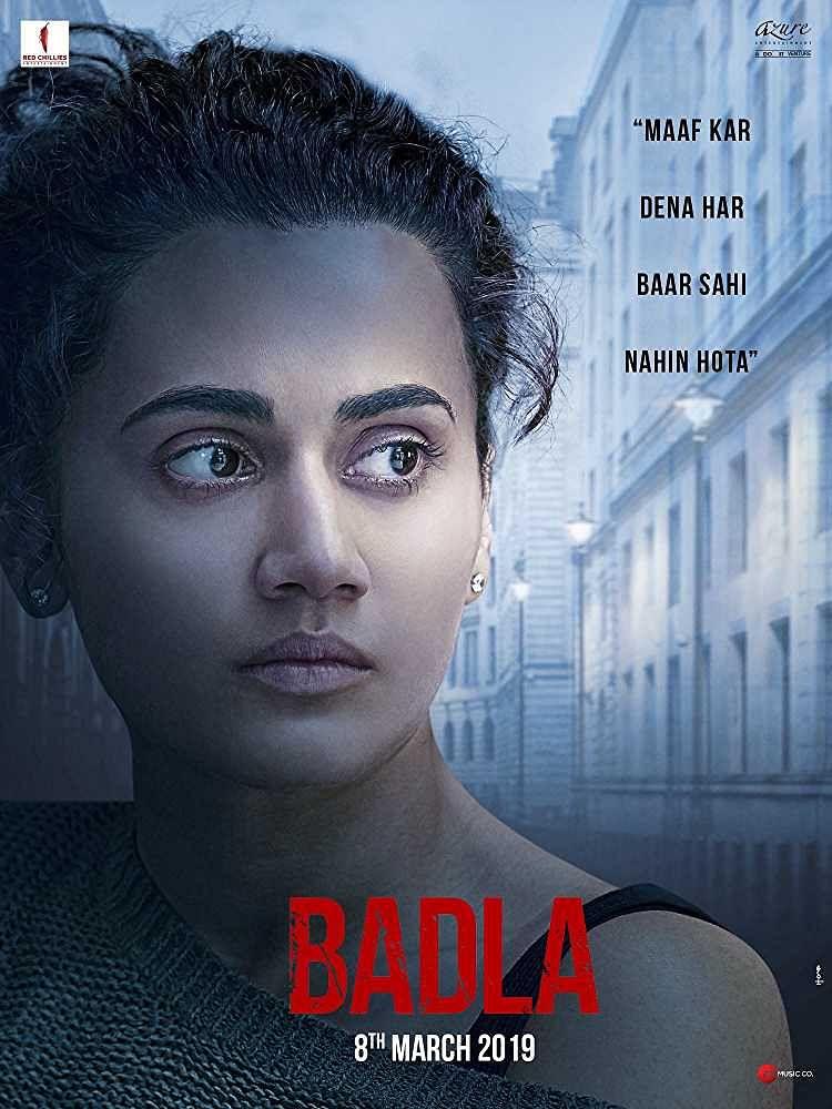 Poster of <i>Badla.</i>