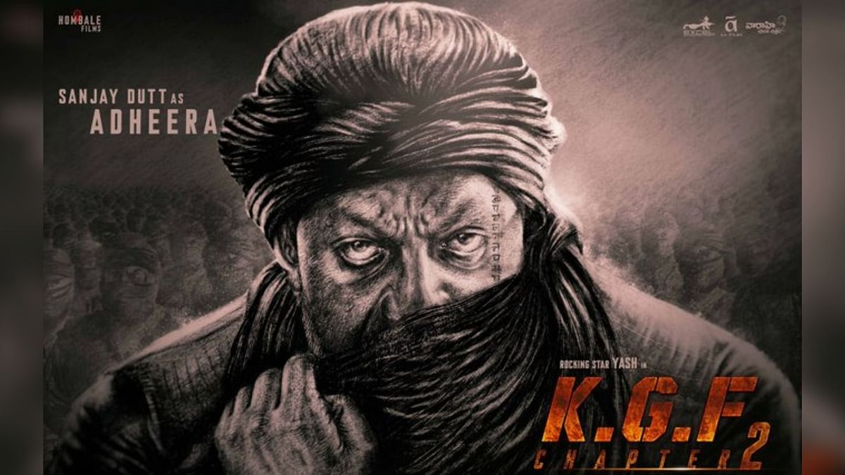 Sajnay Dutt as Adheera in Yash-starrer <i>KGF: Chapter 2</i>.