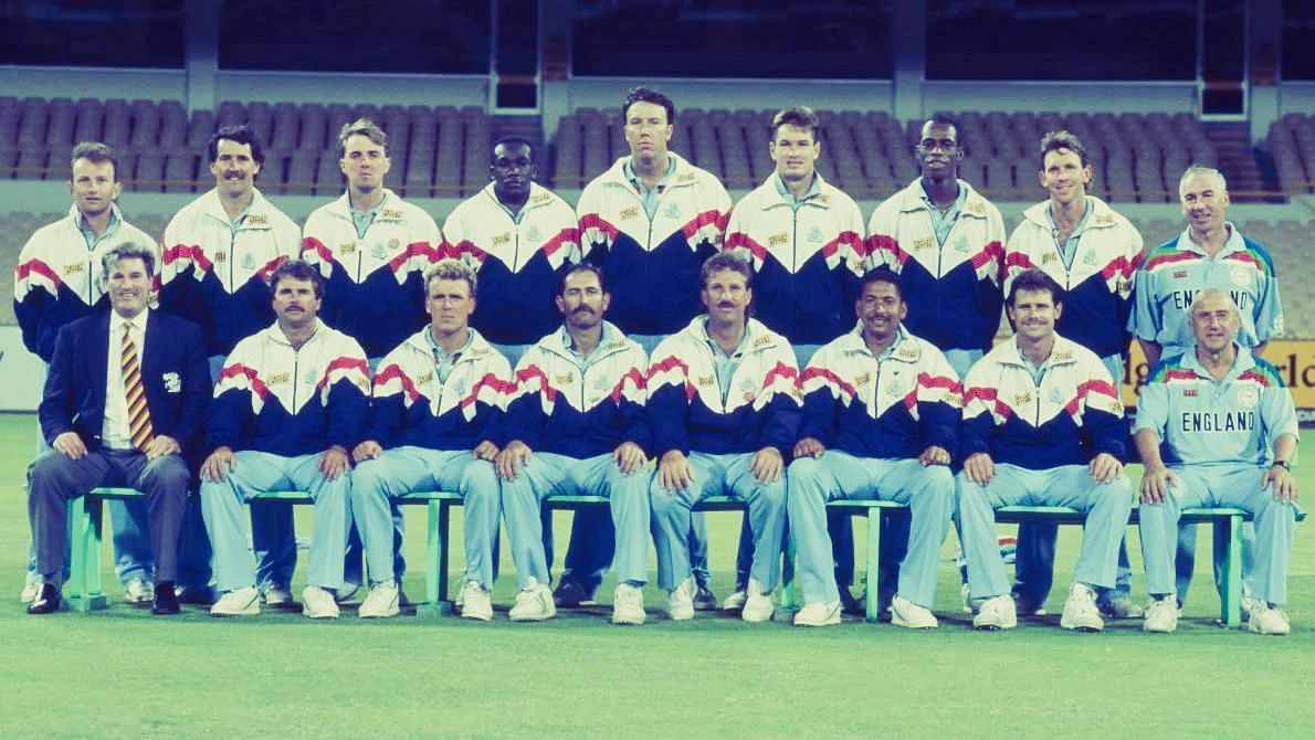 Graham Gooch led England's 1992 squad which lost to Pakistan in the final.