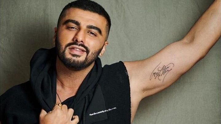 Arjun Kapoor shared a video of himself getting inked.