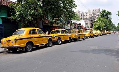 Now Kolkata's yellow taxis join app cab strike