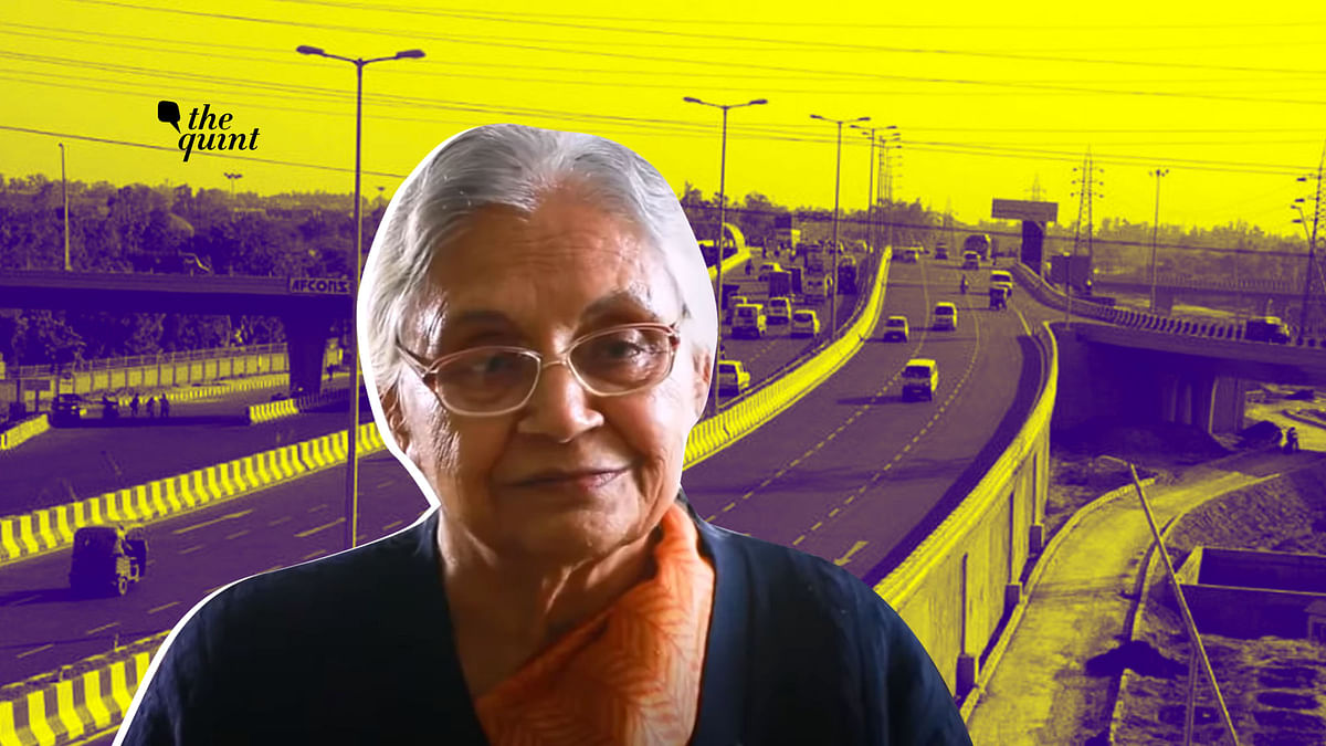 Sheila Dikshit's Last Drive on Barapullah: A Road She Fought For