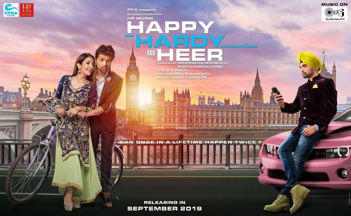 A poster for <i>Happy Hardy and Heer</i>.